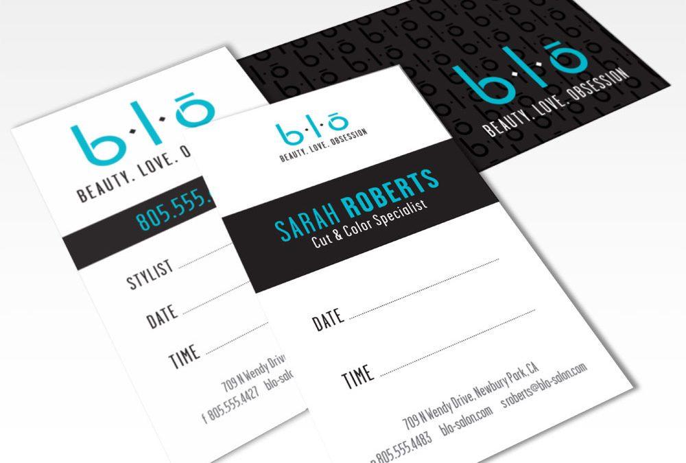 B.L.O. Salon Branding