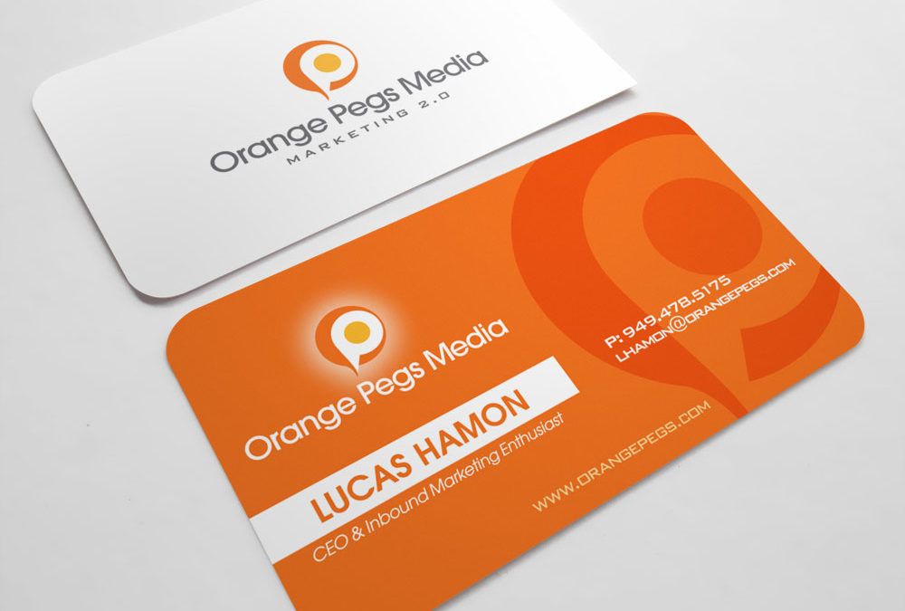 Orange Pegs Media Branding