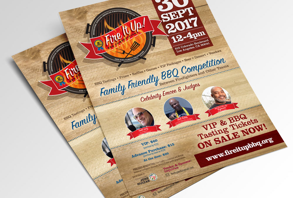 Annual BBQ Competition Flyer