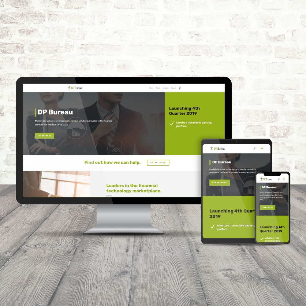 DP Bureau Website Design