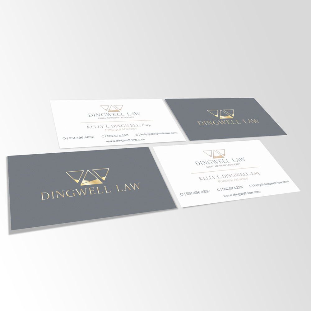 Dingwell Law Business Cards