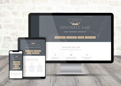 Dingwell Law Branding